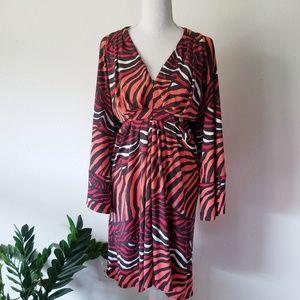 Banana Republic Issa London Kimono Wrap Dress 14